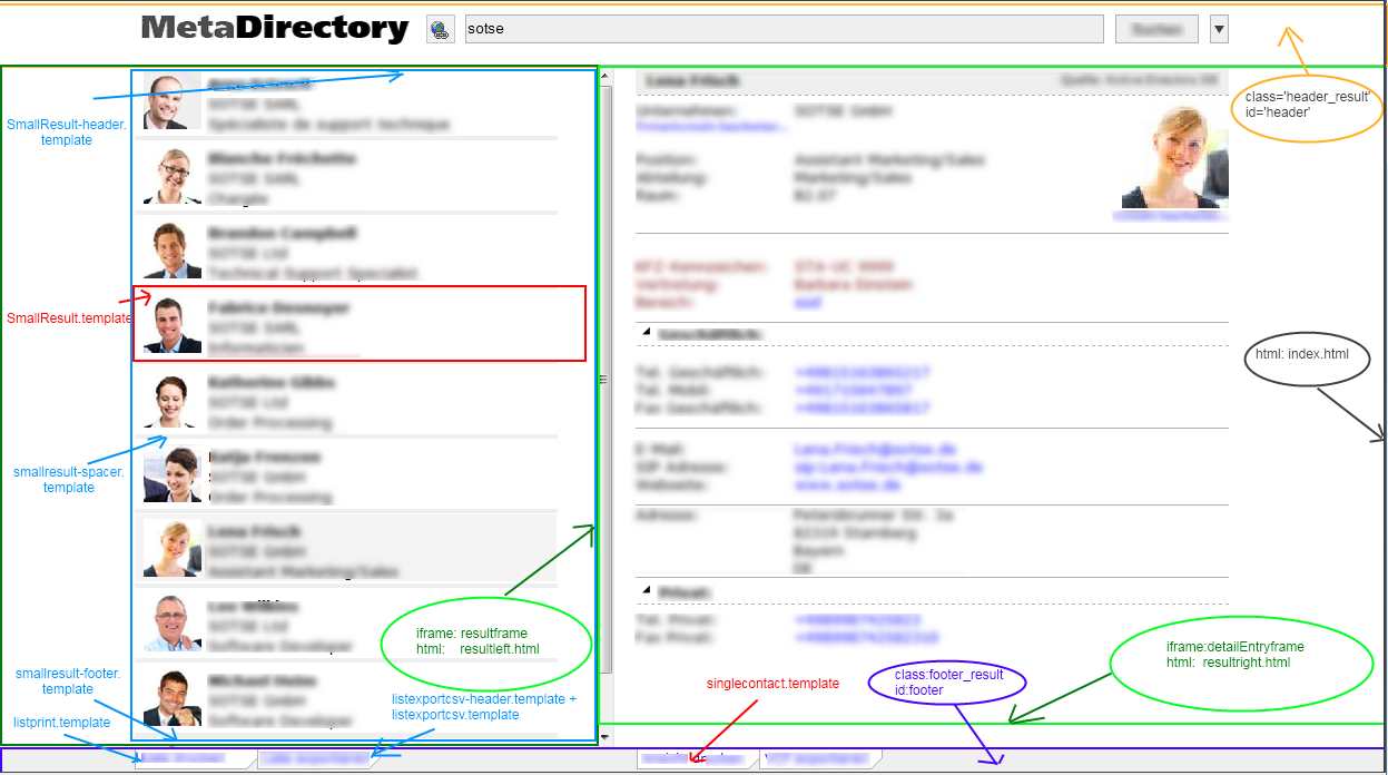 Templates for the Web Server - MetaDirectory - MetaDirectory